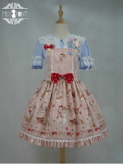 Tailor Rabbit Sweet Lolita Overall Dress by Miss Point Custom Size Available