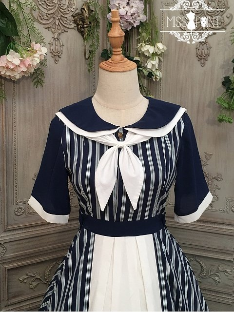 Transoceanic Letter Lolita Dress Matching Scraf by Miss Point