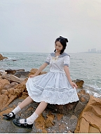 The Conch Lolita Set Shirt /Skirt SK by Miss Point Custom Size Available