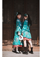 Custom Size Available Ruihexian Han Lolita Reversible Skirt by Miss Point