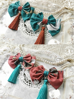 Ruihexian Han Lolita Matching Hairclips by Miss Point