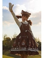 Letter of Autumn Day Lolita Dress JSK by Miss Point Custom Size Available