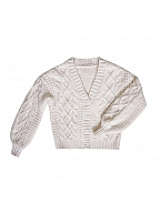 Letter of Autumn Day Lolita Cardigan by Miss Point