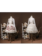 Crown of Thorns Lolita Set Skirt by Milu Forest
