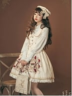 Crown of Thorns Lolita Set Matching Beret by Milu Forest