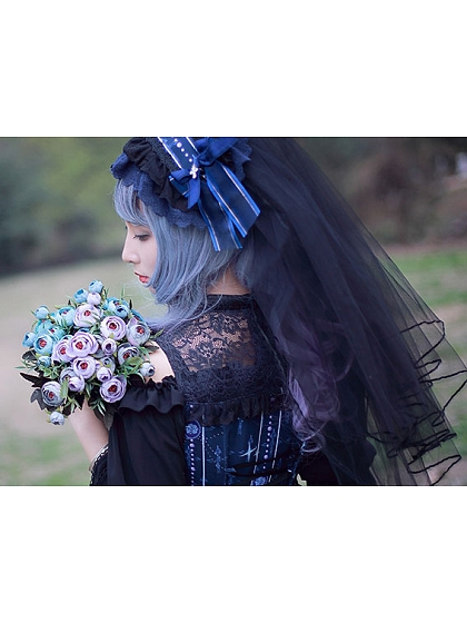Seven Deadly Sins Matching Gorgeous KC with Layered Veil by Milu Forest