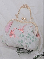 ON-SALE-Swimming Goldfish Chinese Clasp Bag by Milu Forest