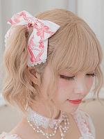 Strawberry Festival Hairclip By Milu Forest