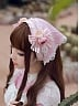 Bright as Spring Sakura Triangle Headgear by Milu Forest