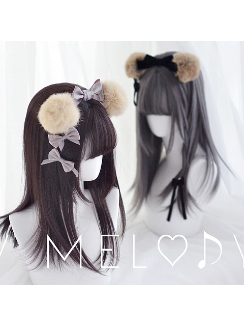 Honey Melody Girl Urania 45 cm Straight Wig by Monkeep