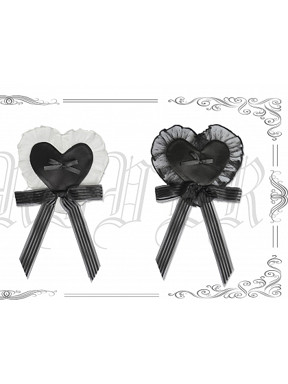 Candy Wrappers Heart-shaped Hairclip by Moonriver