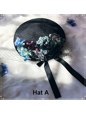 Butterfly Dream Hats by MoonRiver