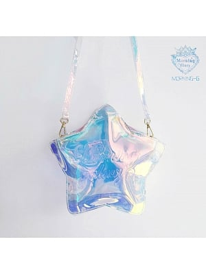 Star Moon Cloud Laser Bag by Morning Glory