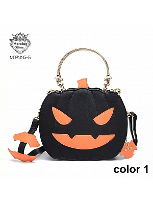 Halloween Pumpkin Shoulder Bag by Morning Glory