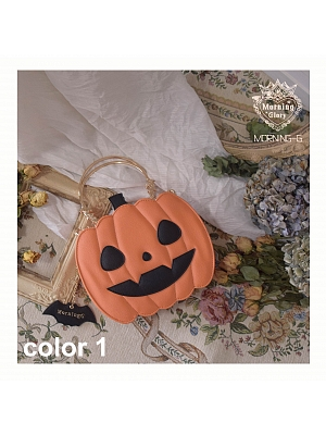 Halloween Pumpkin Shoulder Bag New Color by Morning Glory