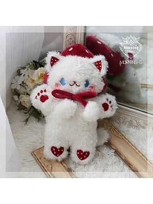 Strawberry Cat Doll Bag Red Color by Morning Glory