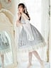 Pre-order Wind Piano Lace-up Back JSK by Miracles