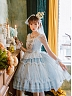 Pre-order Dance on Ice Two-tone JSK Set by Miracles