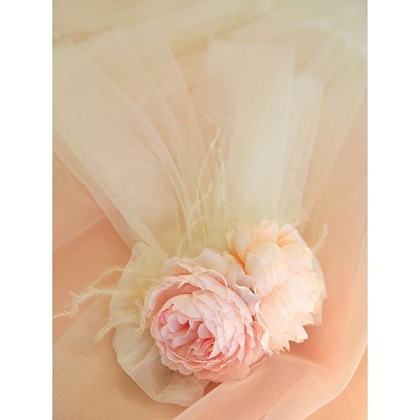 Lappet Tulle Corsage By Miracles