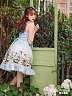 Pre-order Afternoon Of The Faun Lace-up Back JSK by Magic Tea Party