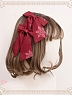 Pre-order Fox Buys Gloves KC hairclip by Magic Tea Party