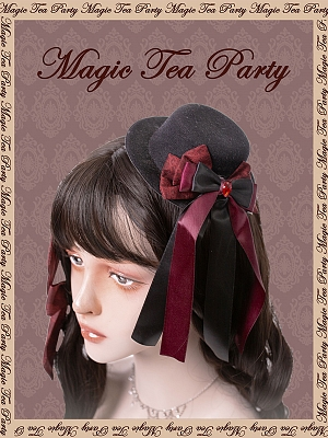 Miss Jasmine Hat and KC by Magic Tea Party