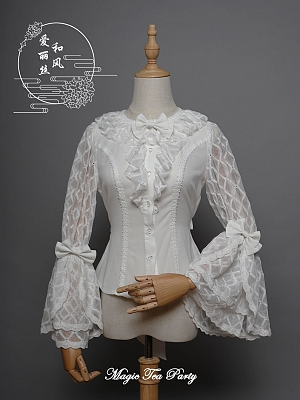 Qi Lolita Alice Blouse by Magic Tea Party