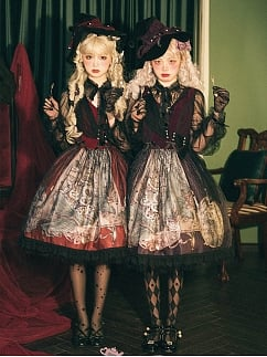 [Limited Edition] Witch's Feast Halloween Gothic Lolita Dress OP by Magic Tea Party