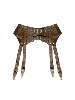 Steampunk Rivet Girdle by Mr Yi's Steamland
