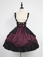 Custom Size Available High Waist Lolita Overall Dress - Morningstar Idol Academy by Souffle Song