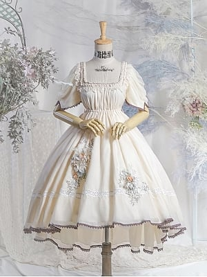 Scarborough Fair Empire Waist Lolita Dress OP by Neo Ludwig