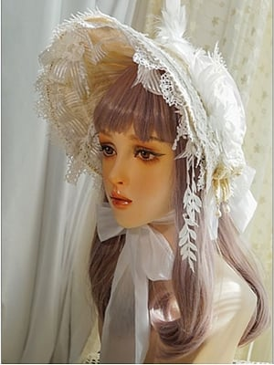 Scarborough Fair Lolita Dress Matching Bonnet by Neo Ludwig