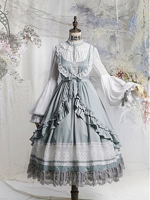 Scarborough Fair Forest Oxygen Lolita Dress Pajamas OP Set by Neo Ludwig