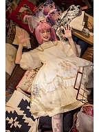 Off Guide Silver Branch Magician Lolita Dress OP by Neo Ludwig
