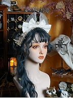 Off Guide Silver Branch Magician Matching Hairband by Neo Ludwig