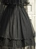 ON SALE-Elasticized Waist Lace-Up Front Overdress by Ninth Planet