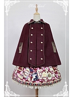 Steampunk Style Winter Coat Free Size Lolita Cape - Journey by Souffle Song