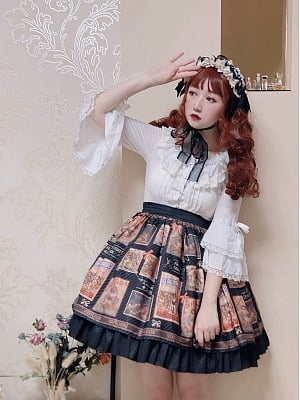 Circus Troup Skirt by Souffle Song