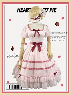 Sweet Chocolate Pie Lolita Dress OP by Souffle Song