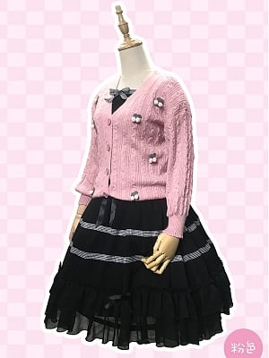 Cherry Cherry Sweet Lolita Cardigan by Souffle Song