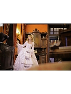 [NOT FOR SALE RIGHT NOW] Made-to-Order Vintage Wedding Dress - Queen Mary by Souffle Song