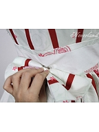 Custom Size Available Nine-Tailed Fox Striped Side-Opening JSK by Souffle Song