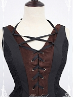 Custom Size Available Eyelets Bodice and Skirt Side JSK by Souffle Song