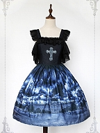Custom Size Available Phantom of the Castle Open-Shoulder JSK by Souffle Song