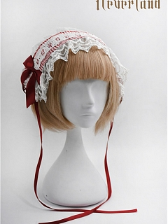 Plaid Lace Hairband Five Colors Available By Souffle Song