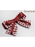 Plaid Bowknot Hairclip A Five Colors Available By Souffle Song