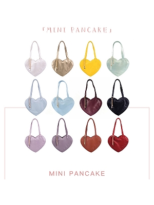 Mini Pancake Heart-shaped Bag by NanNanS