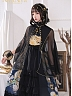 East Sun And Western Moon Open Front And Shoulder JSK by Nya Nya Lolita