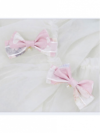 Pre-order Little Spring Hairclip and Hairband by Nya Nya