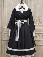Love and Death Wa Lolita Blouse by Nya Nya